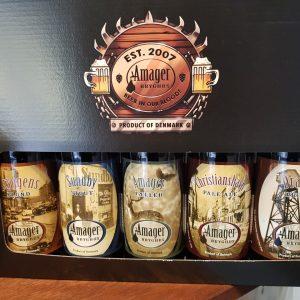 Amager bryghus 5 stk gaveæske