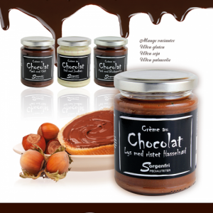 Belgisk chokoladecreme Kongelundgaard