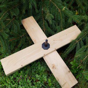 juletræsfod med dorn Kongelundgaard juletræer