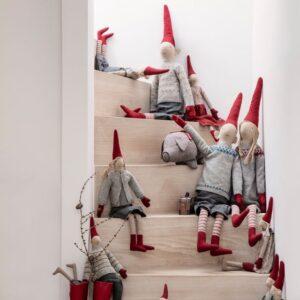 Pixy jul på trappen maileg kongelundgaard