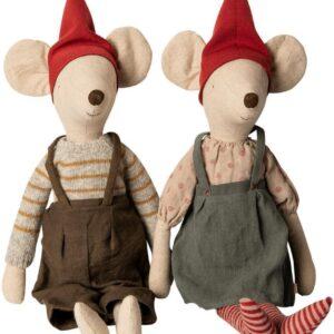 maileg-christmas-mouse-maxi-girl-boy Kongelundgaard