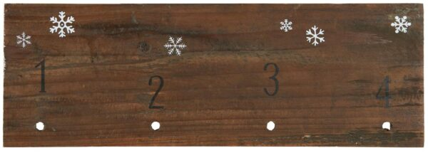 5297-00 advents kalender bræt Kongelundgaard