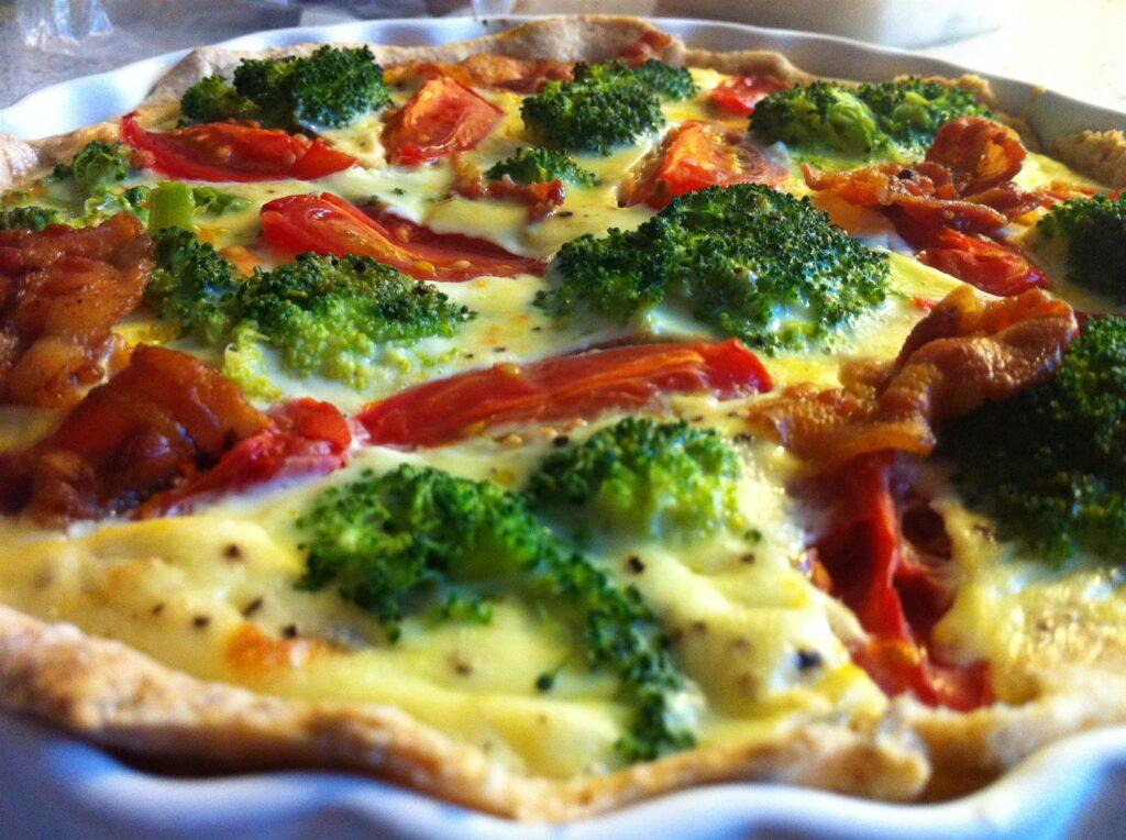 Lækker grøntsagstærte